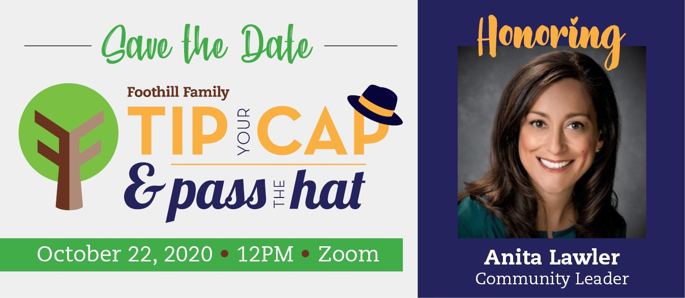 Foothill Family Pass The Hat 2020 Invitation